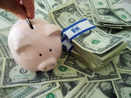 目標達成の為にコツコツ貯金する